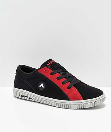 802e8b6d9b Airwalk The One Black   Red Skate Shoes