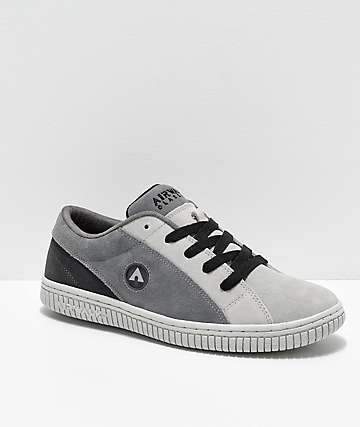 a8f3748699 Airwalk The One Charcoal Grey Skate Shoes
