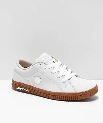 Airwalk The One Wheat, White & Gum Skate Shoes