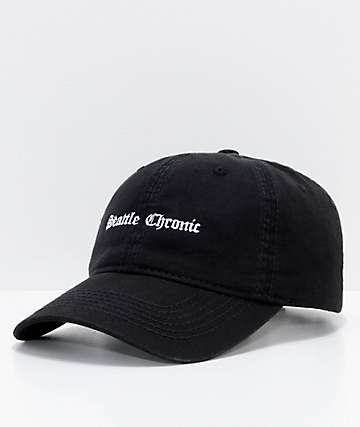 Akomplice Seattle Chronic Black Strapback Hat