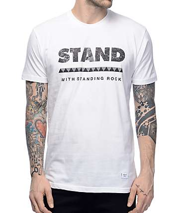 Akomplice Standing Rock White T-Shirt