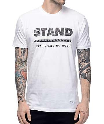 Akomplice Standing Rock camiseta blanca