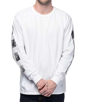 Akomplice Standing Rock camiseta blanca de manga larga