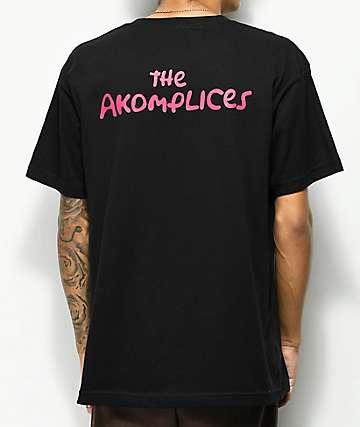 Akomplice The Akomplices camiseta negra