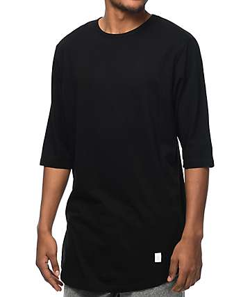 Akomplice VSOP Moan Elongated Sleeve Black T-Shirt