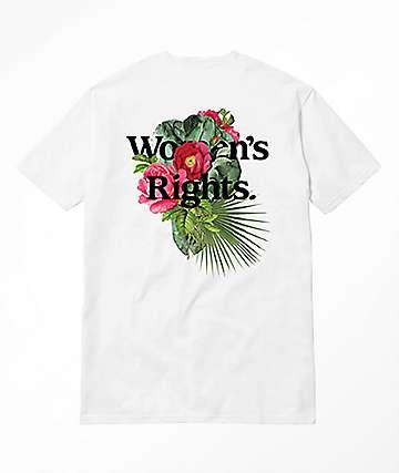 Akomplice Women's Rights White T-Shirt