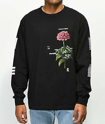 Akomplice Zennia Black Long Sleeve T-Shirt