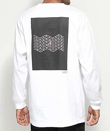 Akomplice x Synchrodogs 3.141 camiseta blanca de manga larga