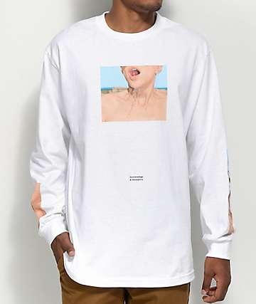 Akomplice x Synchrodogs Fortune camiseta blanca de manga larga