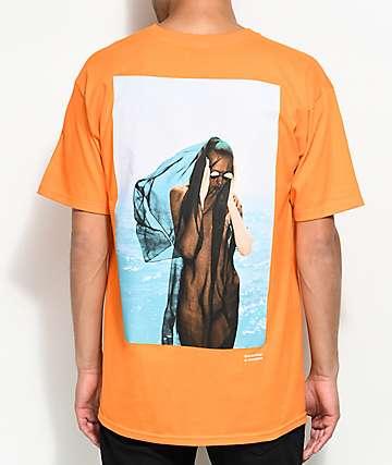 Akomplice x Synchrodogs Guise Orange T-Shirt