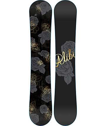 Alibi Muse 154cm tabla de snowboard para mujer