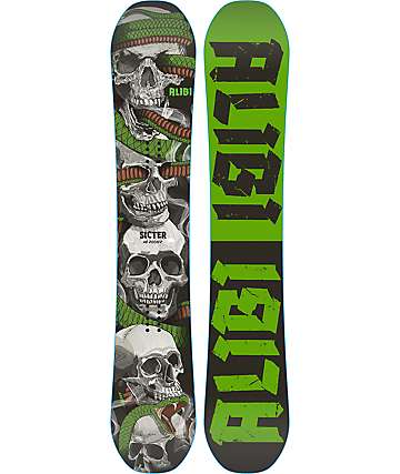Alibi Sicter 160cm Wide Snowboard