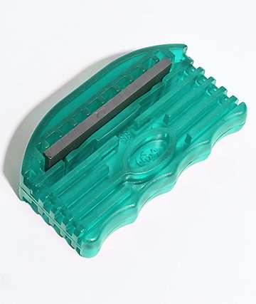 Alibi afilador de bordes verde azulado