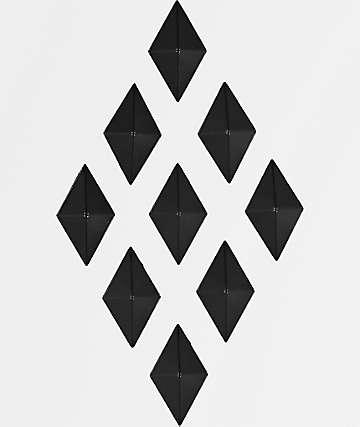 Alibi almohadilla antideslizante de diamantes negros