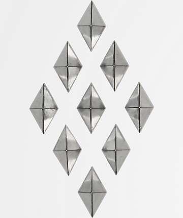 Alibi almohadilla de agarre de diamante gris