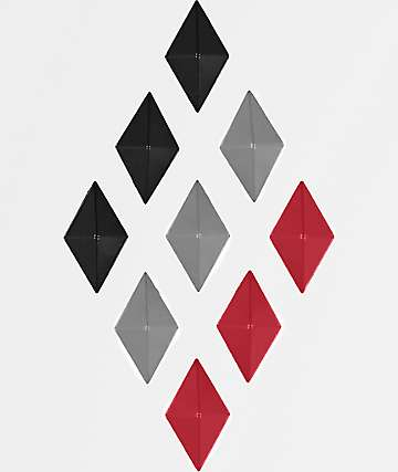 Alibi almohadilla de agarre de diamantes multicolor