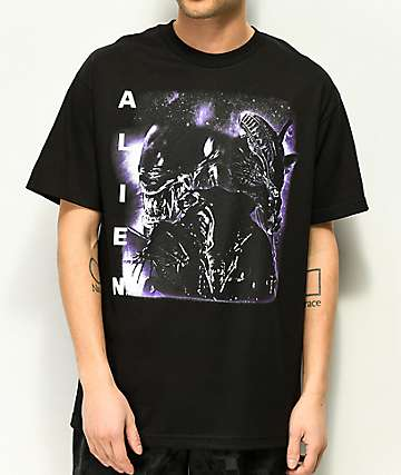 Alien Rap Black T-Shirt