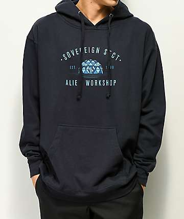 Alien Workshop Architects Navy Hoodie
