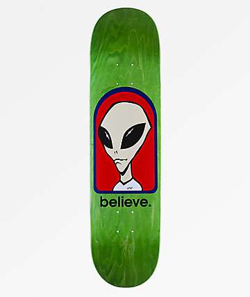 "Alien Workshop Believe 8.0"" Skateboard Deck"