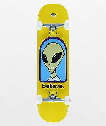 """Alien Workshop Believe 8.25"""" Skateboard Complete"""