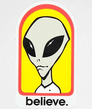 Alien Workshop Believe Sticker