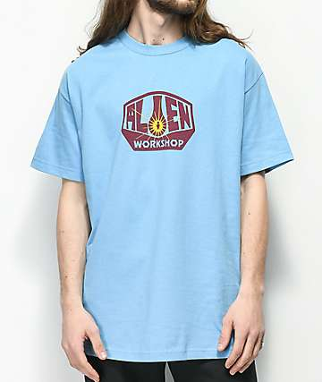 Alien Workshop Logo Light Blue T-Shirt