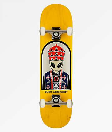 "Alien Workshop Priest 8.0"" Skateboard Complete"