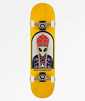 "Alien Workshop Priest 8.0"" Skateboard Complete"