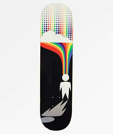 "Alien Workshop Silver Lining 8.0"" Skateboard Deck"