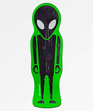 "Alien Workshop Soldier Die Cut 9.68"" Skateboard Deck"