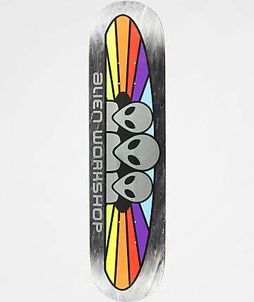 "Alien Workshop Spectrum 8.0"" tabla de skate metálica"