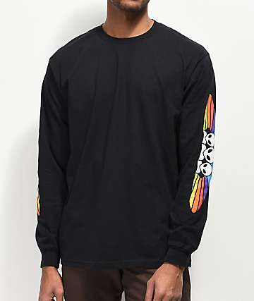 Alien Workshop Spectrum Black Long Sleeve T-Shirt