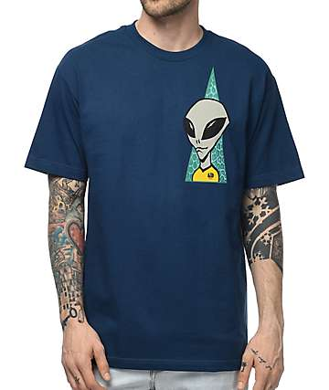 Alien Workshop Visitor Navy T-Shirt