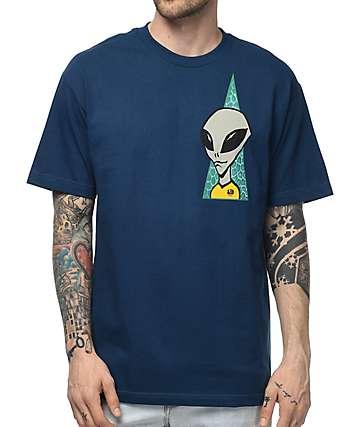 Alien Workshop Visitor camiseta en azul marino