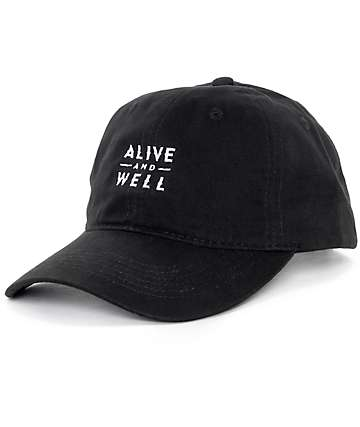 Alive and Well Classic Logo Strapback Baseball Hat