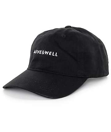 Alive and Well Horizontal Logo gorra béisbol strapback