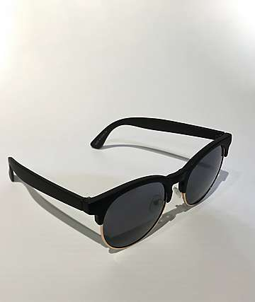 All Good Black Clubmaster Sunglasses