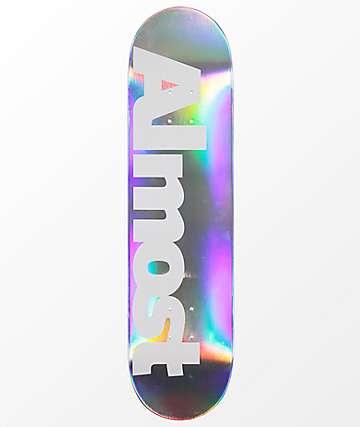 "Almost 8.0"" tabla de skate iridiscente"