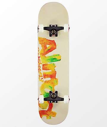 "Almost Blotchy Resin 7.75"" Skateboard Complete"