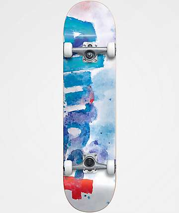 "Almost Color Bleed 7.75"" Skateboard Complete"