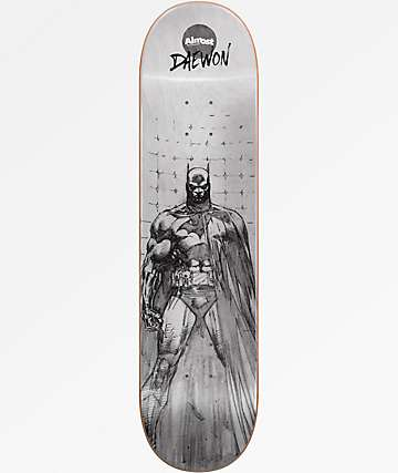 "Almost Daewon Batman Pencil Sketch 8.12"" Skateboard Deck"