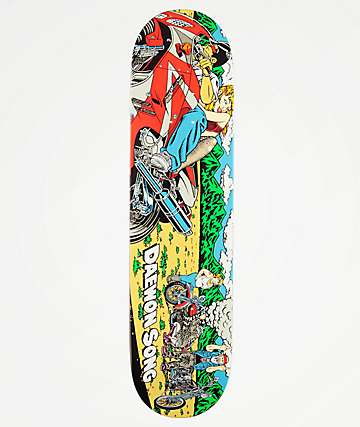 "Almost Daewon Rice Burner 7.75"" Skateboard Deck"