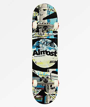 "Almost Distressed 8.0"" Skateboard Complete"