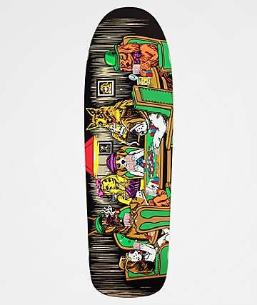 "Almost Mullen Dog Poker 9.625"" Skateboard Deck"