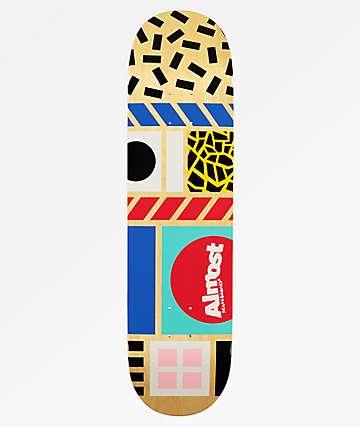 "Almost New Wave 8.25"" Natural Skateboard Deck"