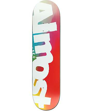 "Almost Side Pipe Blurry 8.0"" Skateboard Deck"