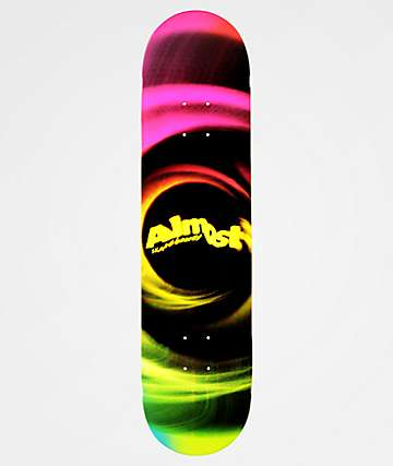 "Almost Smear 7.75"" Magenta Skateboard Deck"