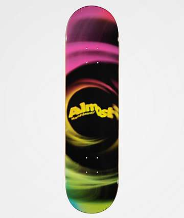 "Almost Smear Magenta 8.0"" Skateboard Deck"