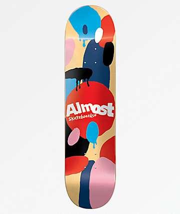 "Almost Spotted Cream Hybrid 7.75"" Skateboard Deck"