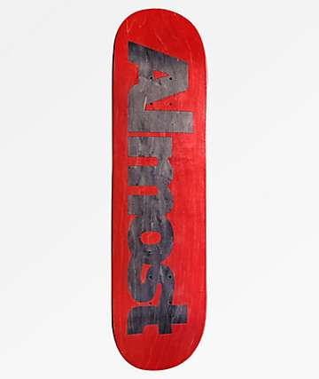 "Almost Ultimate Logo Red 8.25"" Skateboard Deck"